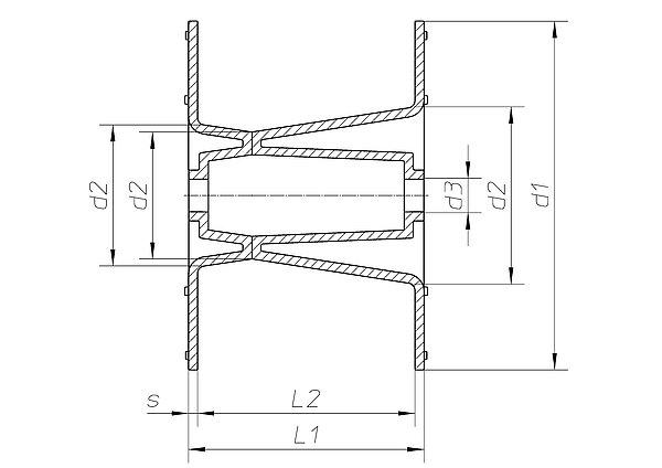 spulen f r b nder rohre und leitungen h fner krullmann gmbh. Black Bedroom Furniture Sets. Home Design Ideas