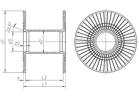 lm em spulen h fner krullmann gmbh. Black Bedroom Furniture Sets. Home Design Ideas