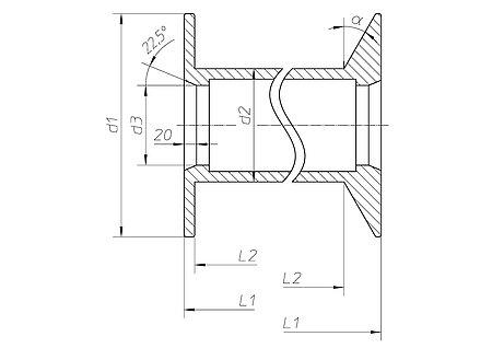 spulen f r niedrig legierte dr hte h fner krullmann gmbh. Black Bedroom Furniture Sets. Home Design Ideas