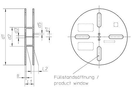 bandspulen mit glattem flansch h fner krullmann gmbh. Black Bedroom Furniture Sets. Home Design Ideas