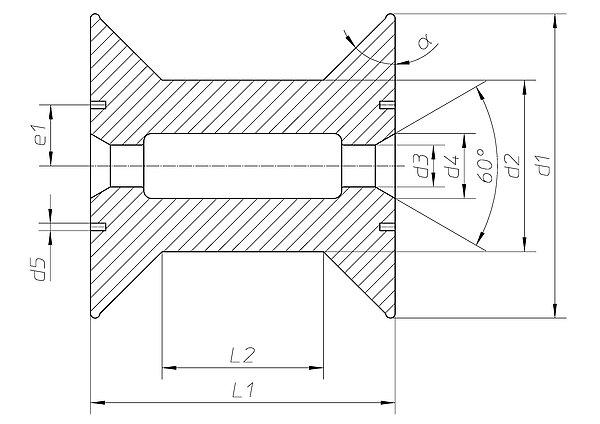 spule hkv 160 h fner krullmann gmbh. Black Bedroom Furniture Sets. Home Design Ideas
