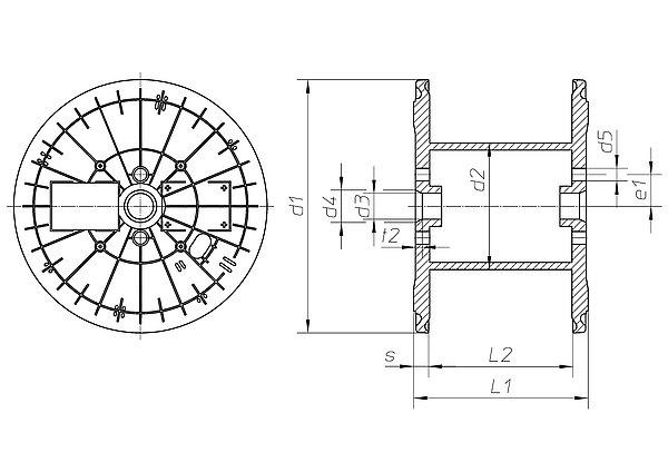 spule usr 435 56 485 h fner krullmann gmbh. Black Bedroom Furniture Sets. Home Design Ideas