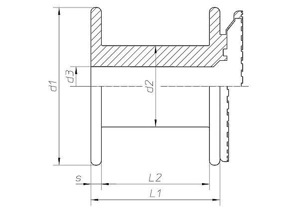 spule spi 80 10 100 s h fner krullmann gmbh. Black Bedroom Furniture Sets. Home Design Ideas