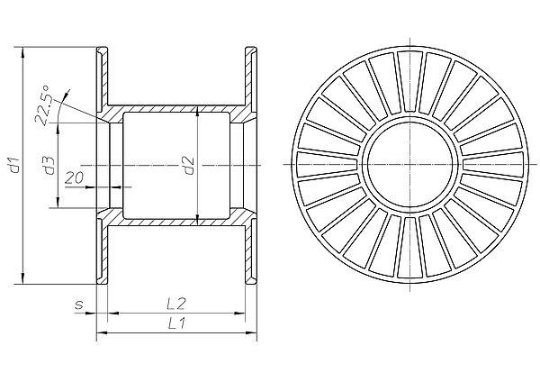 vm spulen h fner krullmann gmbh. Black Bedroom Furniture Sets. Home Design Ideas