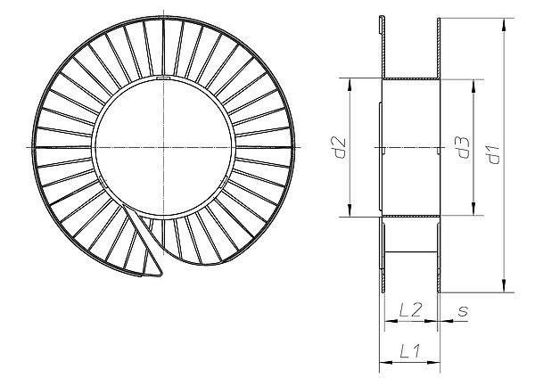 spule mt 396 205 h fner krullmann gmbh. Black Bedroom Furniture Sets. Home Design Ideas